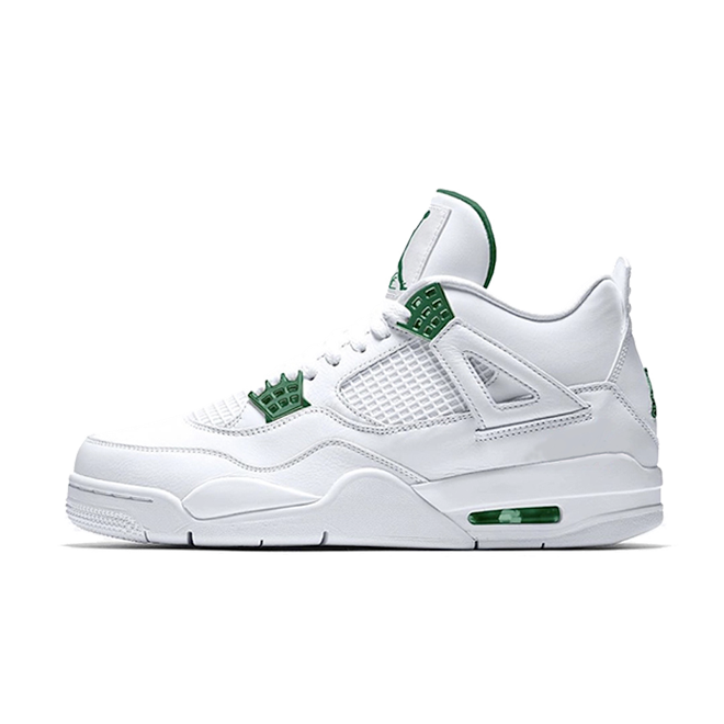 Air Jordan 4 Retro 'Pine Green' zijaanzicht