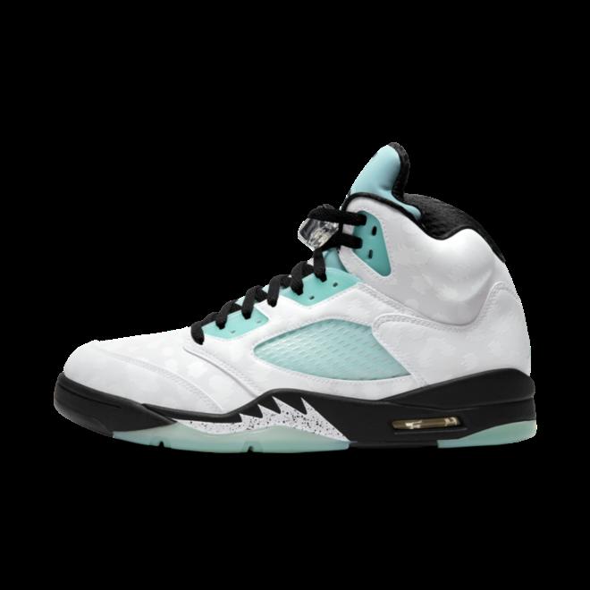 Air Jordan 5 'Island Green' zijaanzicht