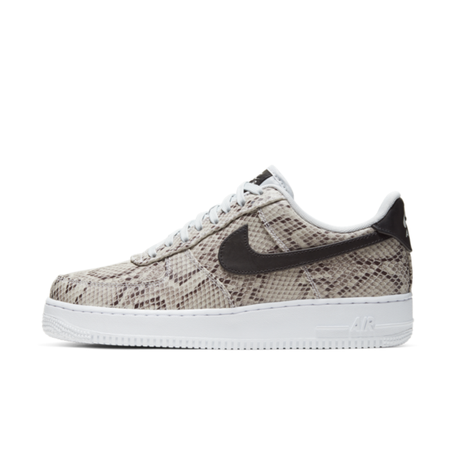 Nike Air Force 1 'Snakeskin' zijaanzicht