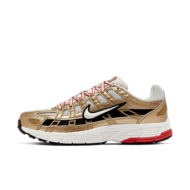 Nike Wmns P-6000 (Light Bone / Summit White - Metallic Gold) BV1021 007