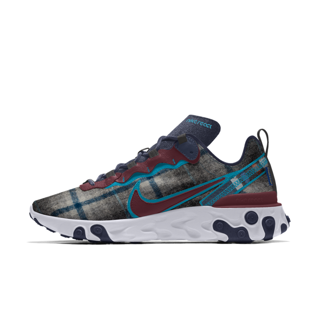 Nike React Element 55 Pendleton By You Custom CK5068-991