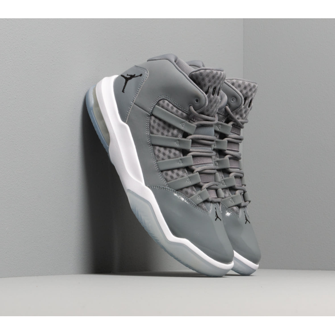 Jordan Max Aura Cool Grey/ Black-White-Clear
