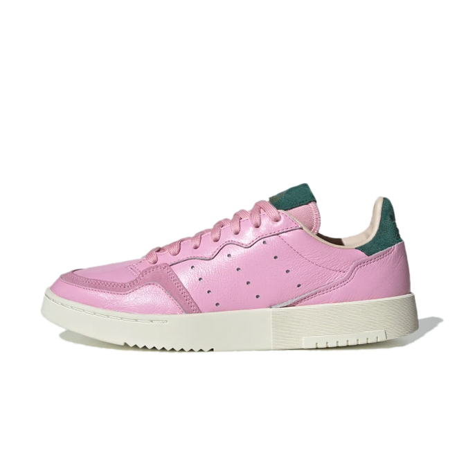 adidas Supercourt 'True Pink' zijaanzicht