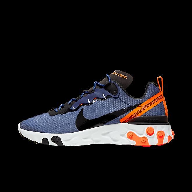 """Nike React Element 55 SE """"Midnight Navy"""" zijaanzicht"""