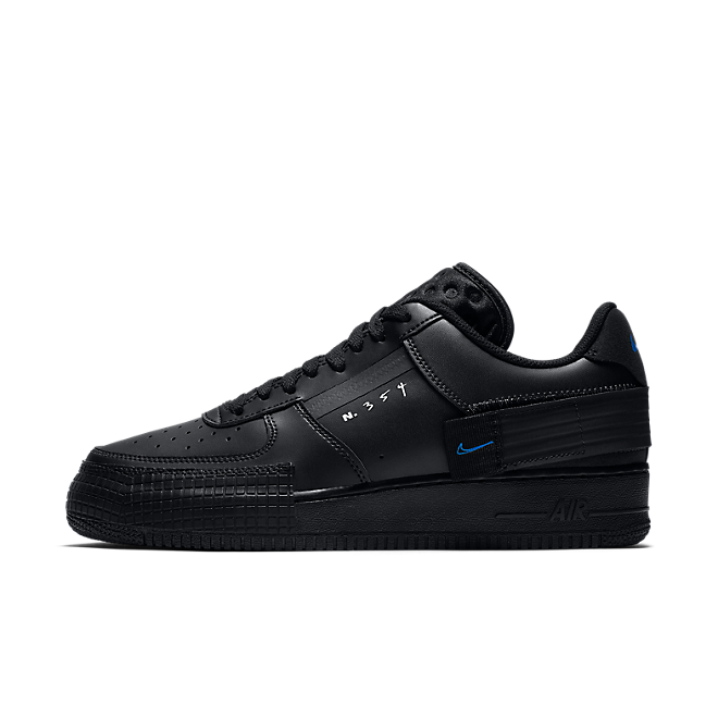 Nike Air Force 1 Type 'N354' - Triple Black