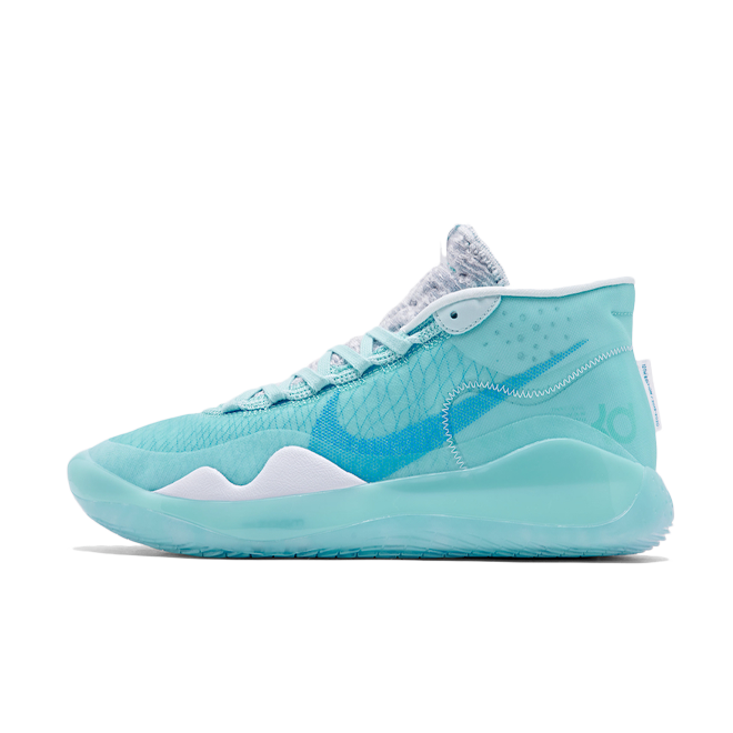 Nike KD 12 'Blue Gaze' zijaanzicht