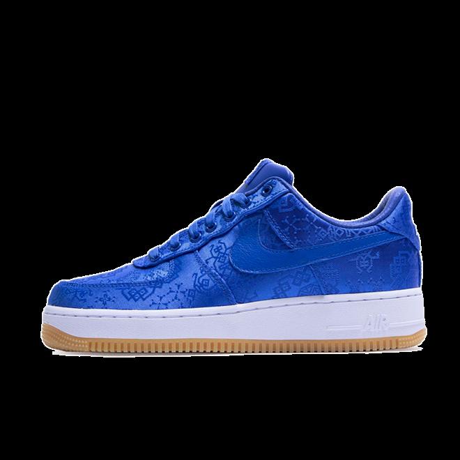 Clot X Nike Air Force 1 Low 'Royal Blue' zijaanzicht