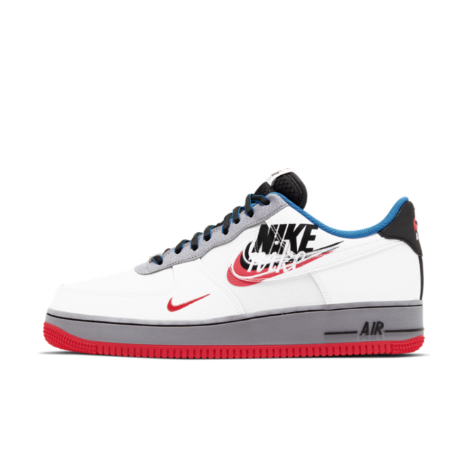 Air Force 1 Low 'Script Swoosh' zijaanzicht