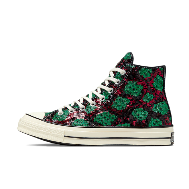 Converse Chuck Taylor Sequin 'Green/Red'