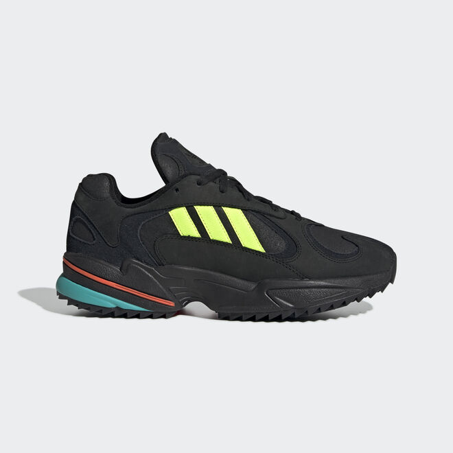 adidas Yung-1 Trail (Core Black / Solar Yellow / Hi Res Aqua)
