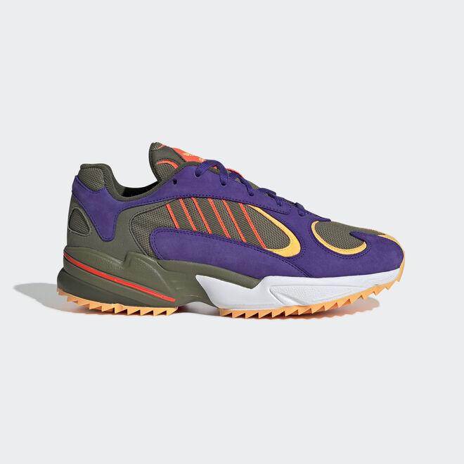 adidas Yung-1 Trail (Raw Khaki / Raw Khaki / Solar Red)