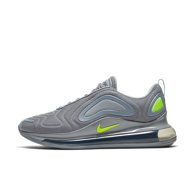 Nike Air Max 720 (Cool Grey / Volt - Electric Green - Black) CT2204 001