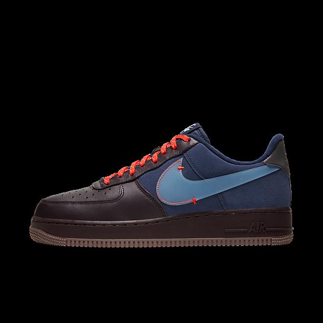Nike Air Force 1 PRM (Burgundy Ash / Celestine Blue)