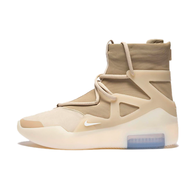 Nike Air Fear Of God 1 'Oatmeal' zijaanzicht