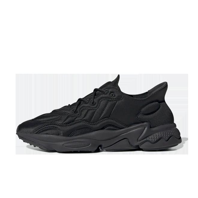 adidas Ozweego Tech Moon Landing 'Core Black' zijaanzicht