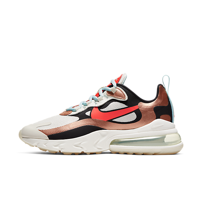 Nike Wmns Air Max 270 React 'Metallic Red Bronze'