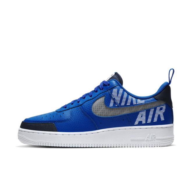 Nike Air Force 1 Low '07 LV8 2 'Blue' zijaanzicht