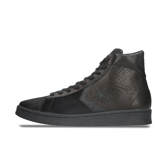 Converse Incubate Pro Leather High 'Black Pony' zijaanzicht