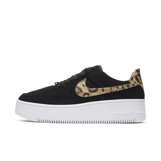 Nike WMNS Air Force 1 Sage Low 'Black Leopard'