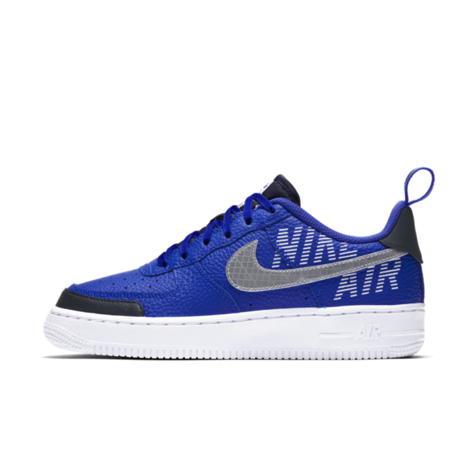Nike Air Force 1 GS 'Blue' zijaanzicht