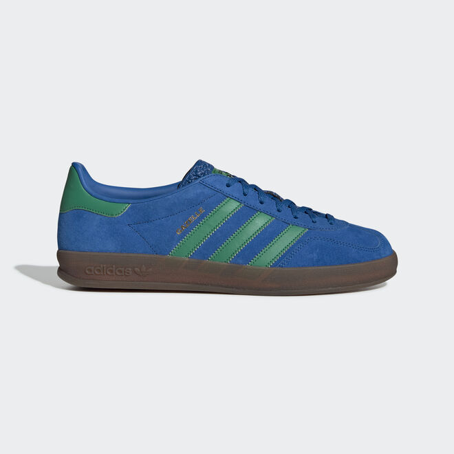 adidas Gazelle Indoor Lust Blue/ Bright Green/ Gum5