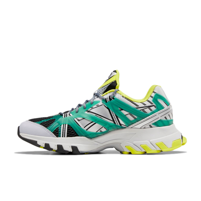 Reebok DMX Trail Shadow 'Green' zijaanzicht