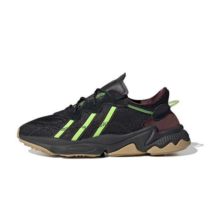 Pusha T X adidas Ozweego 'Core Black