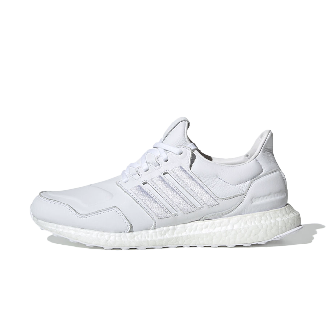 adidas UltraBOOST 'Leather Pack White' zijaanzicht
