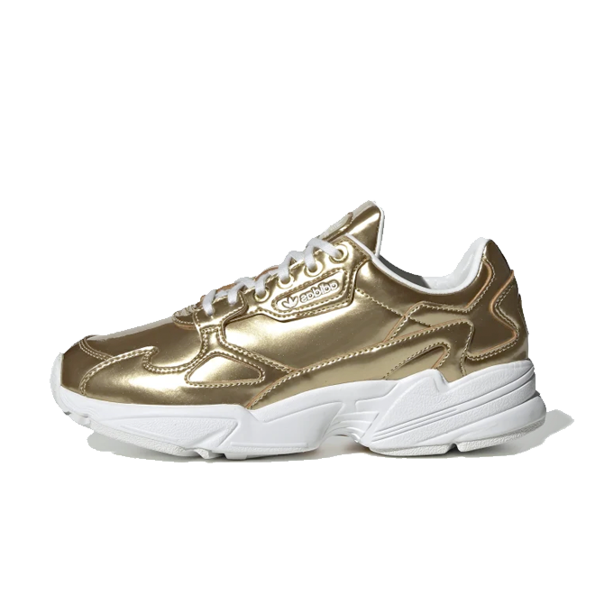 adidas Falcon 'Liquid Metal - Gold' FV4318