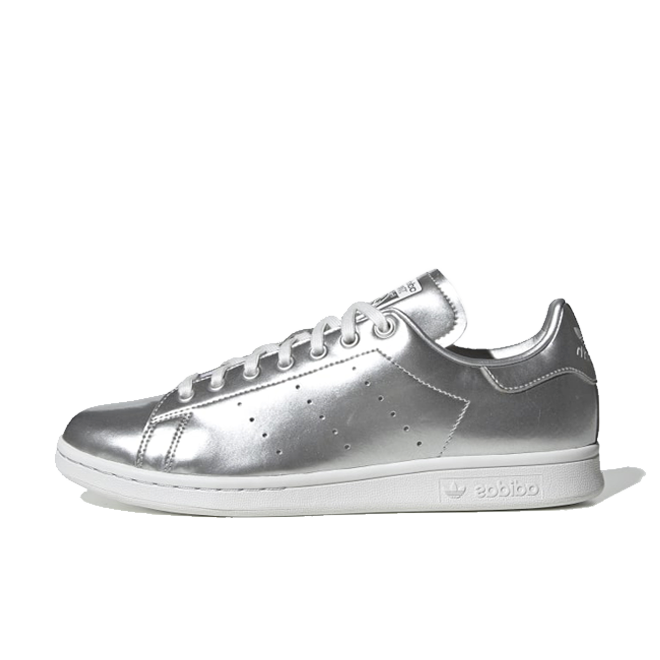 adidas Stan Smith 'Liquid Metal - Silver' zijaanzicht