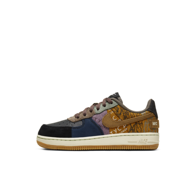 Travis Scott X Nike Air Foce 1 Low PS 'Cactus Jack' | CQ4565 900 | Sneakerjagers
