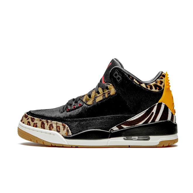 Air Jordan 3 SP 'Animal' zijaanzicht