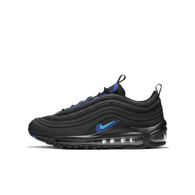 Nike Air Max 97 GS 'Dubble Swoosh - Black'