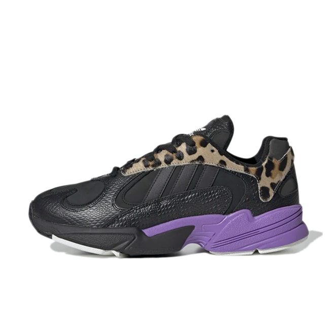 adidas Yung-1 Animal 'Purple' zijaanzicht