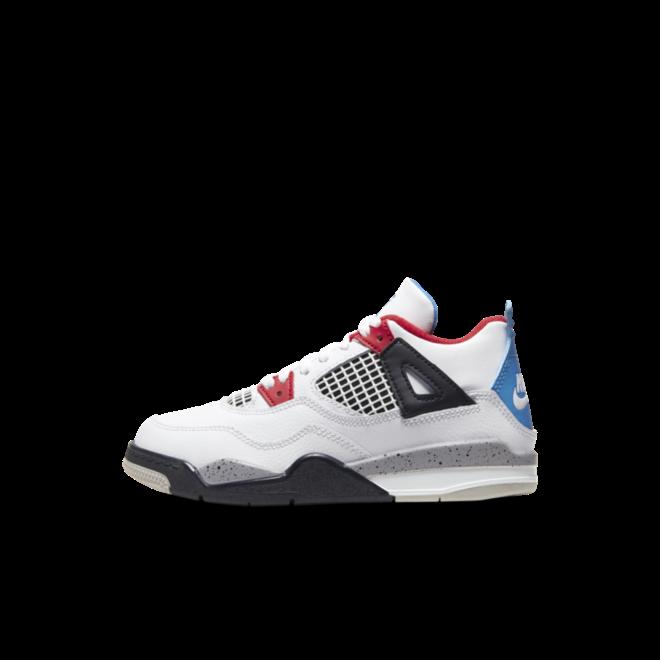 Air Jordan 4 'What The' - Preschool zijaanzicht