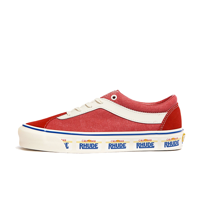 Vans x Rhude Bold Ni Plate/ Red