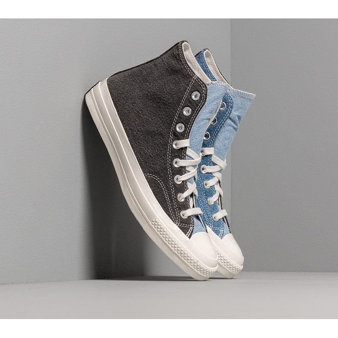 Converse Chuck 70 Hi Renew Dark Denim/ Light Denim/ Egret 166286C