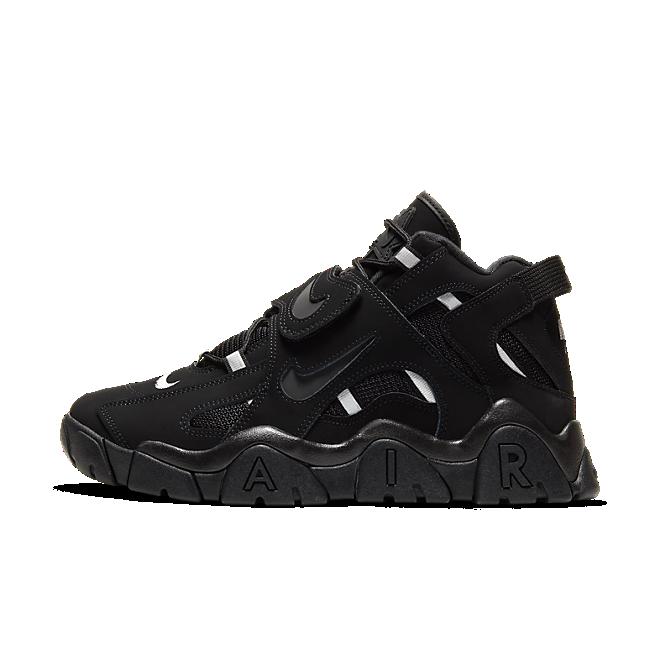 Nike Air Barrage Mid (Black/Black-Black)