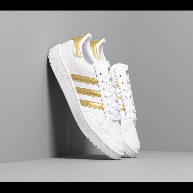adidas Team Court W Ftw White/ Gold Metalic/ Ftw White