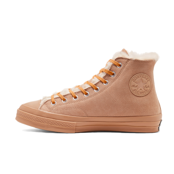 Converse Chuck High CTAS 'Coffee' zijaanzicht