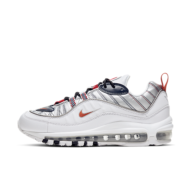 Nike WMNS Air Max 98 Premium 'White/Metallic'