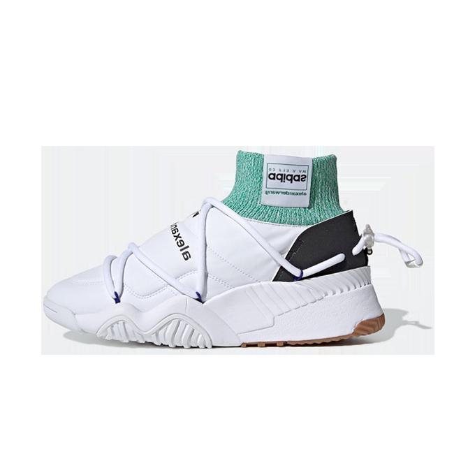 Alexander Wang x adidas Puff Trainer 'White' zijaanzicht