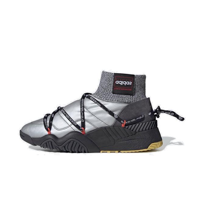 Alexander Wang x adidas Puff Trainer 'Silver' zijaanzicht