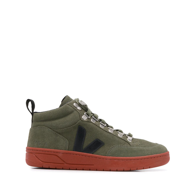 Veja high-top logo trainers