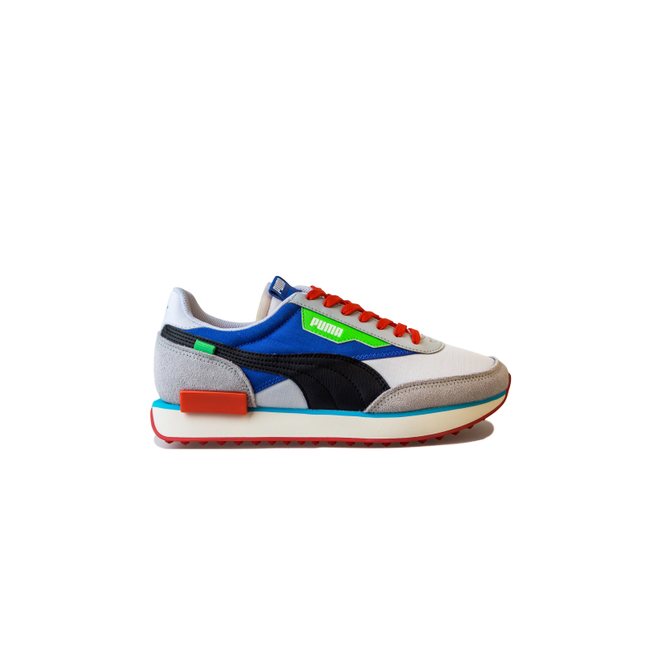 Puma Future Rider Ride On Puma White 372838 0001