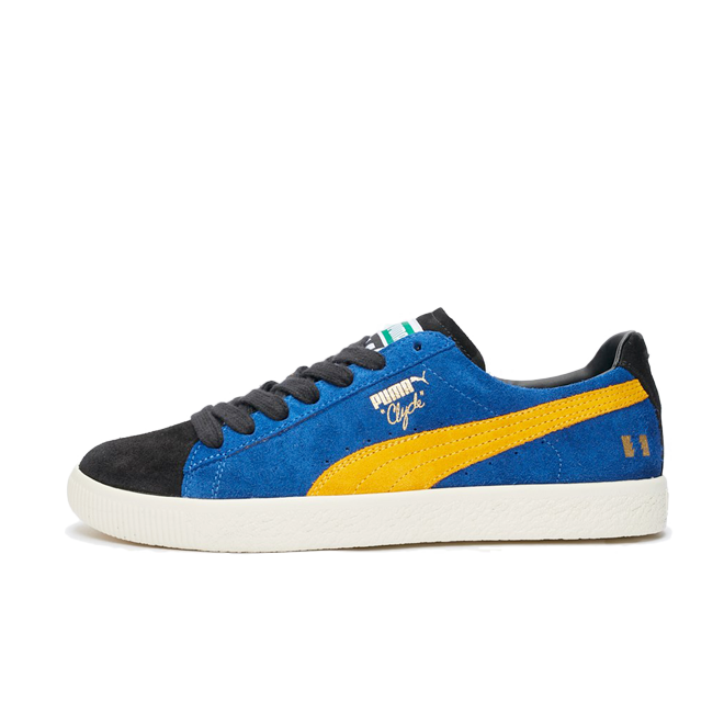 The Hundreds X Puma Clyde zijaanzicht
