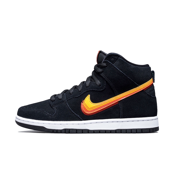 Nike SB Dunk High 'Truck It' zijaanzicht