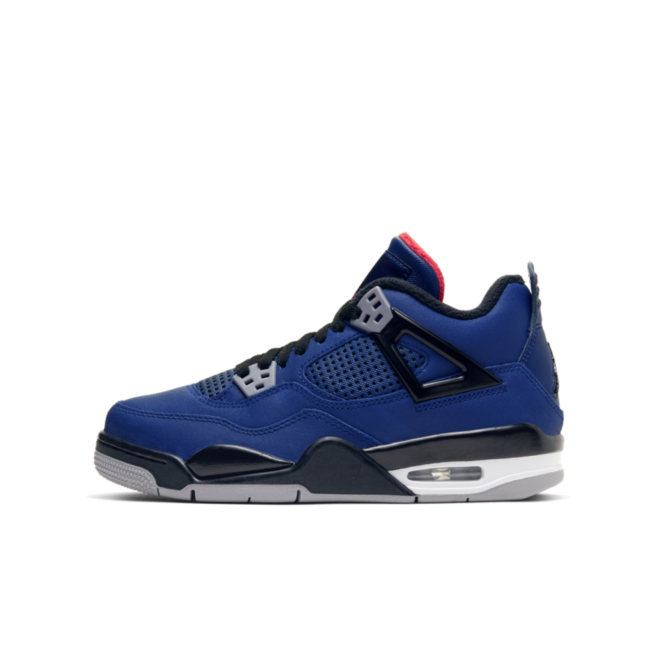 Air Jordan 4 Winter GS 'Loyal Blue' zijaanzicht
