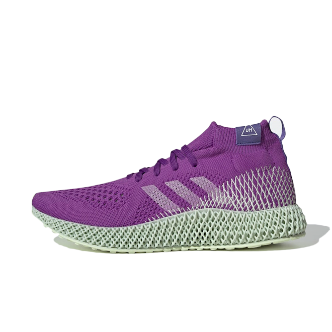 Pharrell Williams x adidas 4D 'Active Purple' FV6335