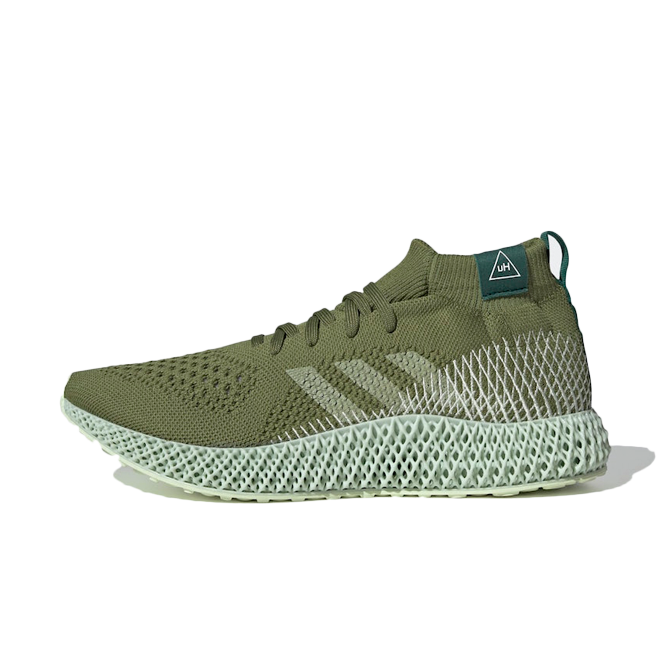 Pharrell Williams x adidas 4D 'Olive' FV6334
